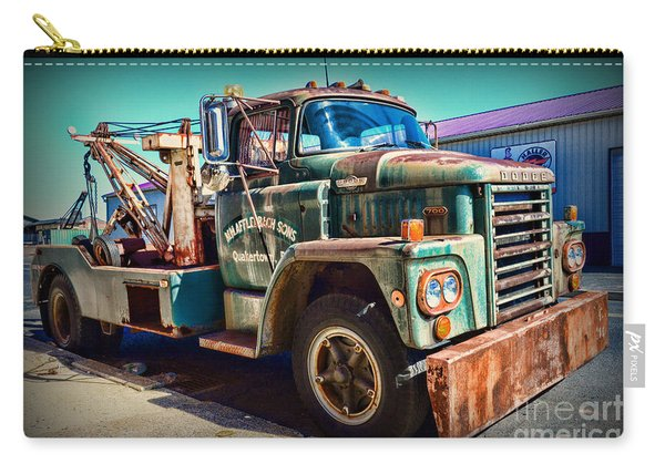 Vintage Dodge Tow Truck Carry-all Pouch