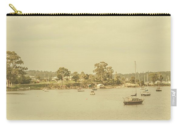 Vintage Dover Harbour Tasmania Carry-all Pouch