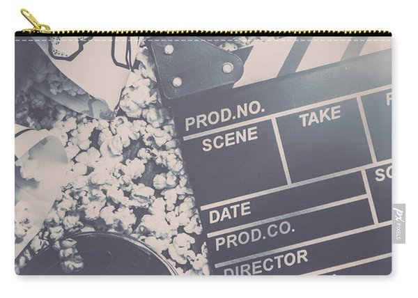 Vintage Film Production Carry-all Pouch