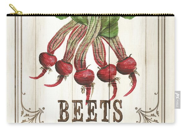 Vintage Fresh Vegetables 1 Carry-all Pouch