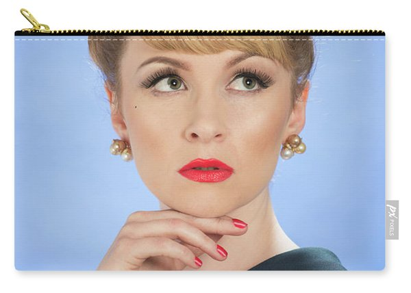 Vintage Glamour Carry-all Pouch