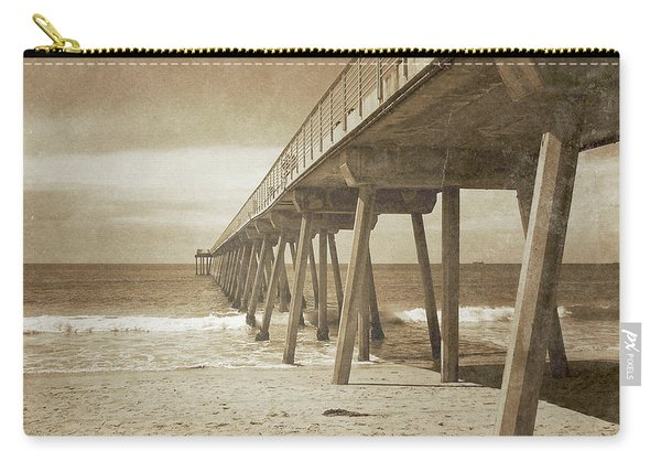 Vintage Hermosa Beach, California Carry-all Pouch
