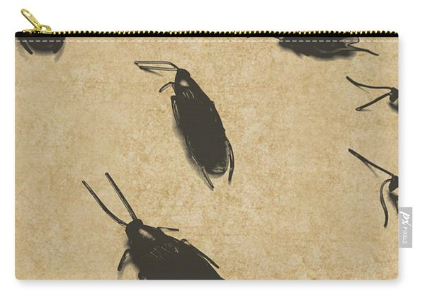 Vintage Infestation Carry-all Pouch