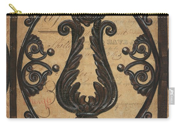 Vintage Iron Scroll Gate 2 Carry-all Pouch