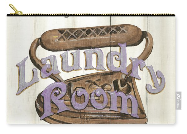 Vintage Laundry Room 1 Carry-all Pouch