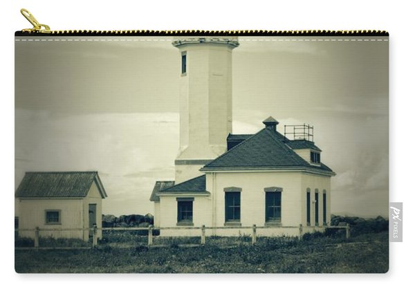 Vintage Lighthouse Monochrome Carry-all Pouch
