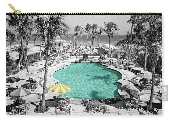 Vintage Miami Carry-all Pouch