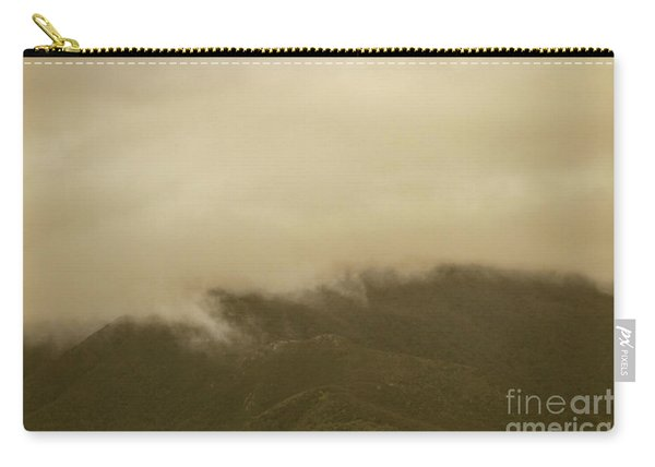 Vintage Mountains Covered By Cloud Carry-all Pouch