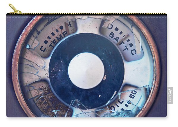 Vintage Oil Indicator Carry-all Pouch