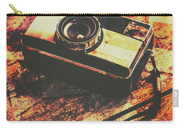 Vintage Old-fashioned Film Camera Carry-all Pouch