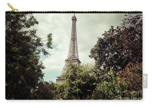 Vintage Paris Landscape Carry-all Pouch