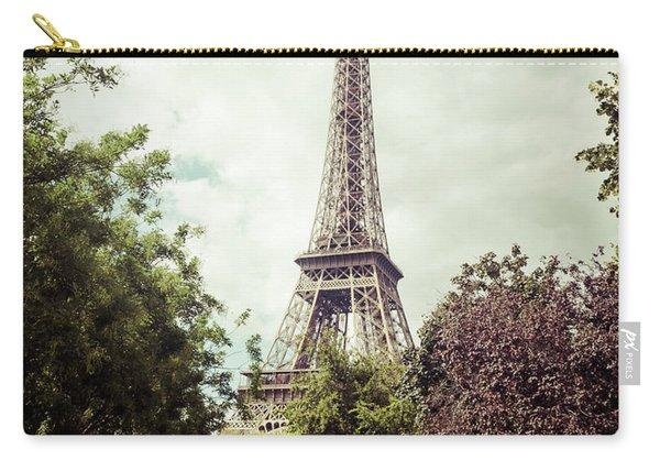 Vintage Paris Carry-all Pouch