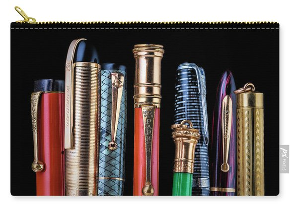 Vintage Pen Collection Carry-all Pouch