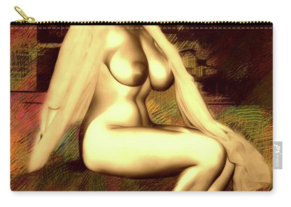 Vintage Pinup By Mb Carry-all Pouch