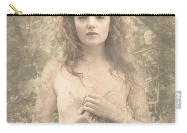 Vintage Portrait Carry-all Pouch