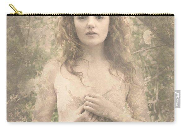 Vintage Portrait Carry-all Pouch