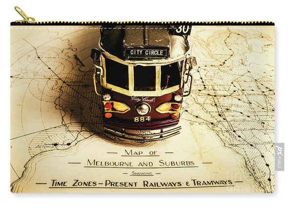 Vintage Railways And Tramways Carry-all Pouch