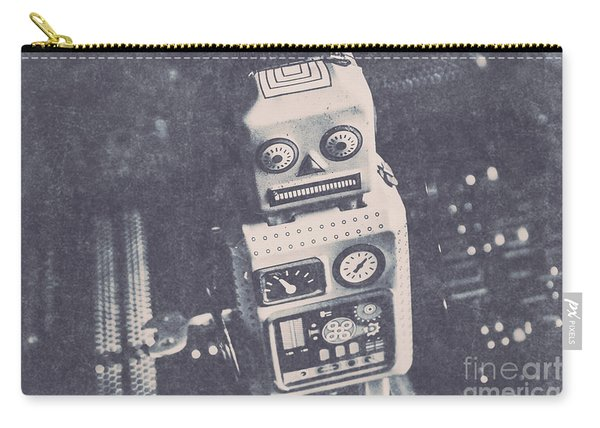 Vintage Robot Toy Carry-all Pouch
