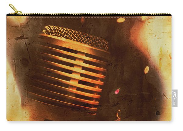 Vintage Sound Check Carry-all Pouch