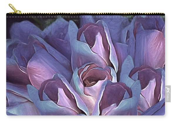 Vintage Still Life Bouquet - 2 Carry-all Pouch