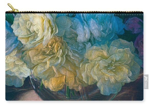 Vintage Still Life Bouquet Painting Carry-all Pouch
