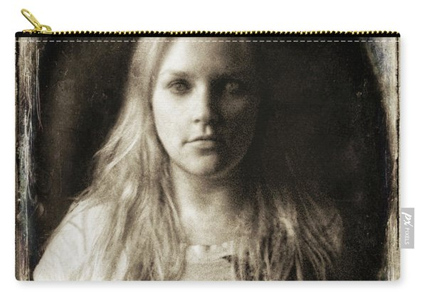 Vintage Tintype Ir Self-portrait Carry-all Pouch