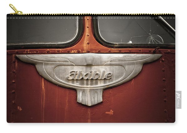 Vintage Tour Bus Carry-all Pouch