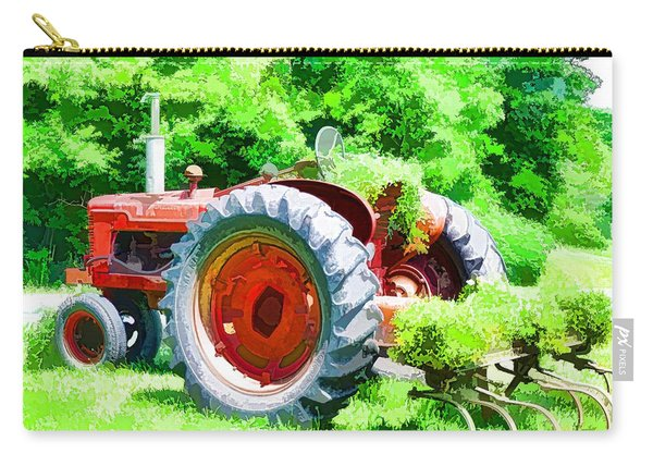 Vintage Tractor 1 Carry-all Pouch