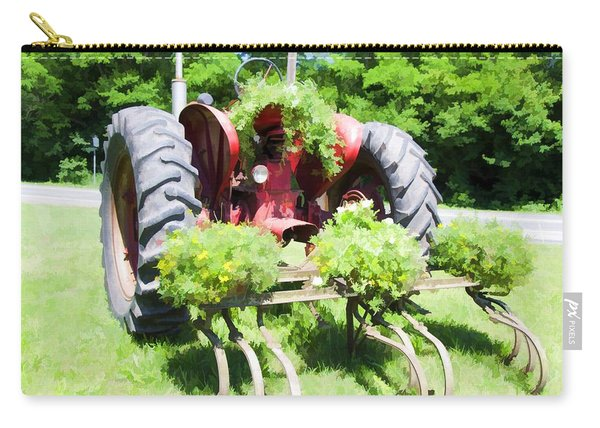 Vintage Tractor 2 Carry-all Pouch