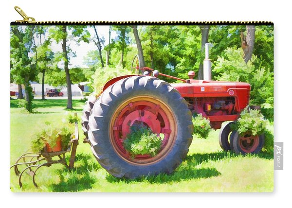 Vintage Tractor 4 Carry-all Pouch