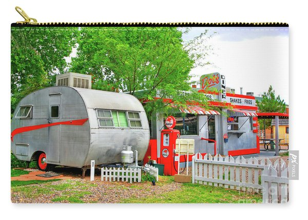 Vintage Trailer And Diner In Bisbee Arizona Carry-all Pouch