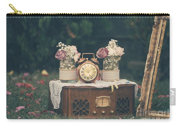 Vintage Wedding Decoration Still Life Carry-all Pouch