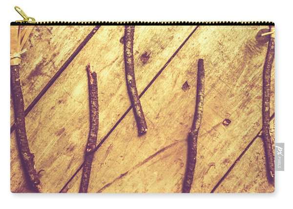 Vintage Witches Broomsticks Carry-all Pouch
