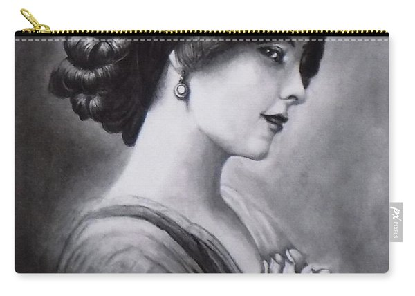 Vintage Woman Carry-all Pouch