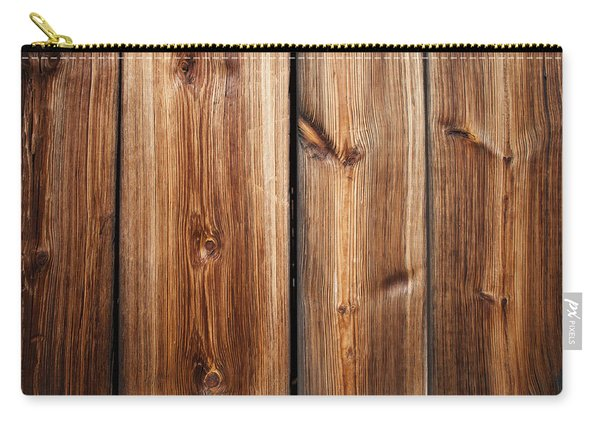 Vintage Wood Planks Carry-all Pouch
