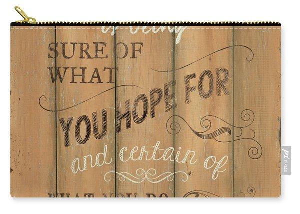 Vintage Wtlb Faith Carry-all Pouch