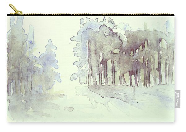 Vintrig Skogsglanta, A Wintry Glade In The Woods 2,83 Mb_0047 Up To 60 X 40 Cm Carry-all Pouch