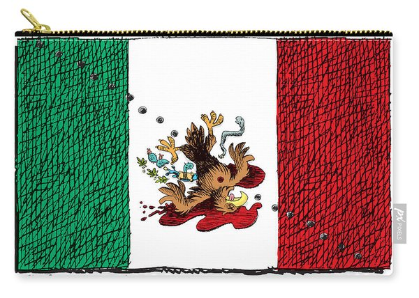Violence In Mexico Carry-all Pouch