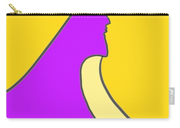 Violet Blonde Carry-all Pouch