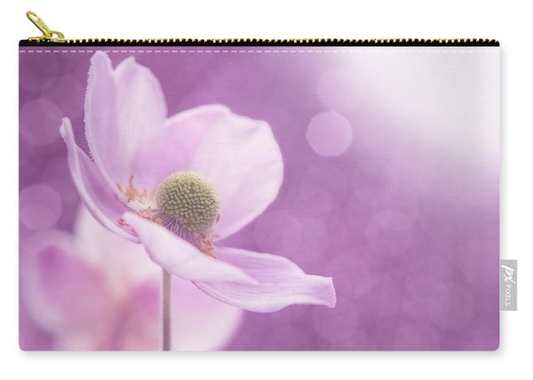 Violet Breeze Carry-all Pouch