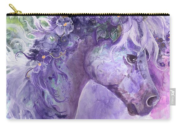 Violet Fantasy Carry-all Pouch