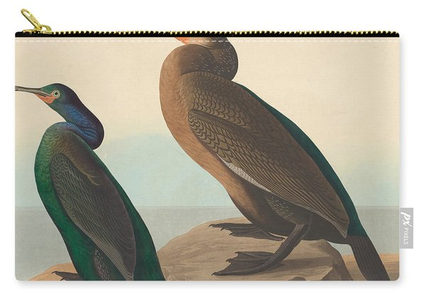 Violet Green Cormorant And Townsend's Cormorant Carry-all Pouch