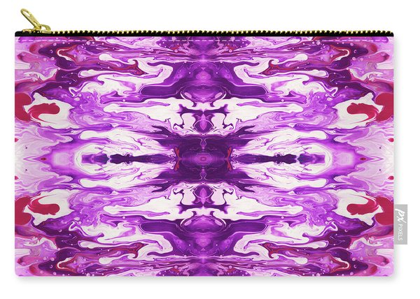 Violet Groove- Art By Linda Woods Carry-all Pouch