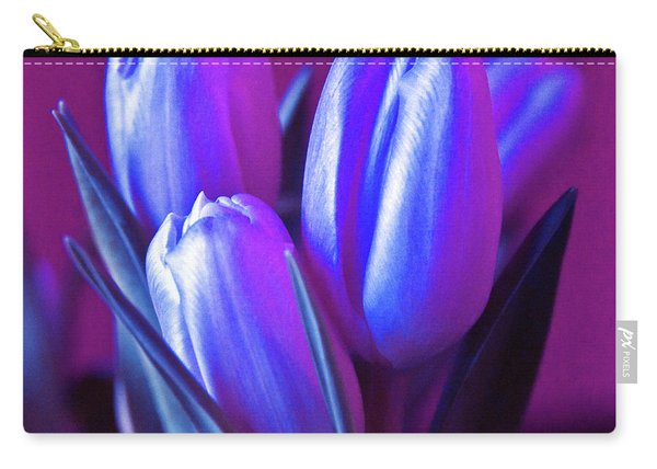 Violet Poetry Of Spring Carry-all Pouch