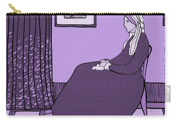 Violet Whistler's Mother Carry-all Pouch