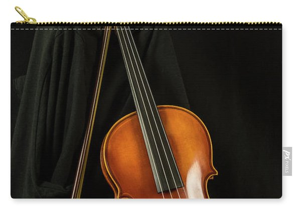 Violin And Bow Carry-all Pouch