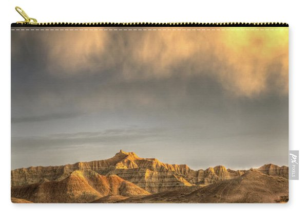 Virga Over The Badlands Carry-all Pouch