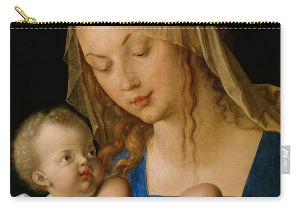 Virgin And Child With A Pear Carry-all Pouch