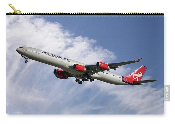 Virgin Atlantic Airbus A340-642 Carry-all Pouch