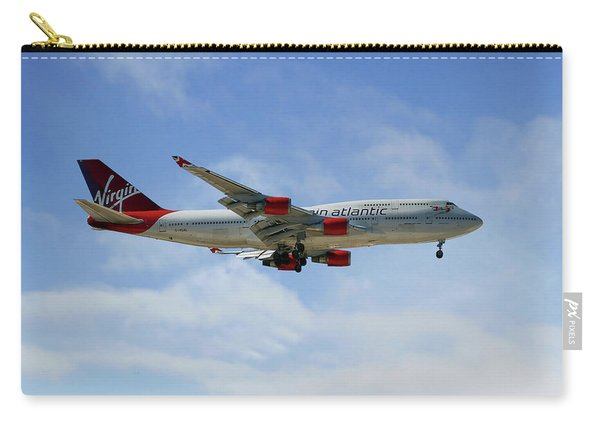 Virgin Atlantic Boeing 747-443 Carry-all Pouch